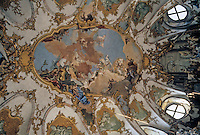 Wurzburg: Ceiling of Kaisershall Residence. Painting by Tiepolo.