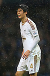 Swansea's Ki Sung-yueng dejected - Manchester City vs Swansea - Barclays Premier League - Etihad Stadium - Manchester - 12/12/2015 Pic Philip Oldham/SportImage