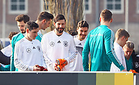 Marvin Plattenhardt (Deutschland Germany), Sebastian Rudy (Deutschland Germany), Jonas Hector (Deutschland Germany) - 25.03.2018: Training der Deutschen Nationalmannschaft, Olympiastadion Berlin