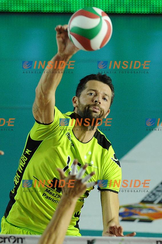 Alberto Cisolla (MRoma).MRoma Volley vs Sisley Belluno .Campionato di Pallavolo Serie A1.PalaTiziano, Roma, 23/10/2011.Photo Antonietta Baldassarre