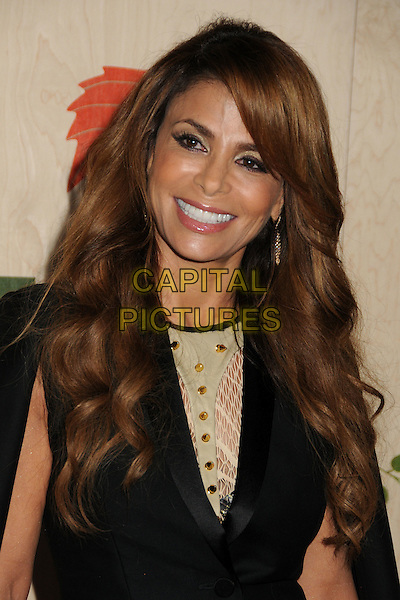 Paula Abdul.7th Annual Fox Fall Eco-Casino Party held at The Bookbindery, Culver City, California, USA..September 12th, 2011.headshot portrait jacket cape dress black beige gold  .CAP/ADM/BP.©Byron Purvis/AdMedia/Capital Pictures.