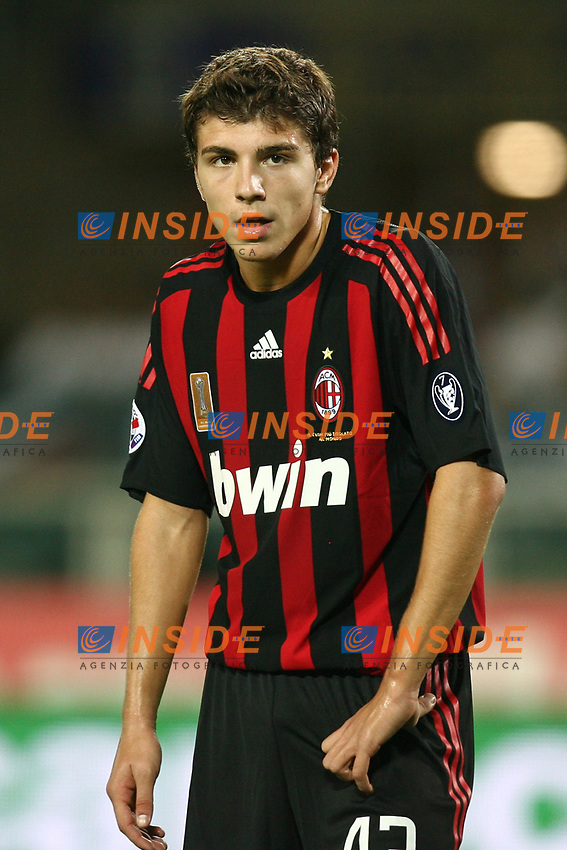 Alberto Paloschi Milan<br /> <br /> Torino 29/7/2008 Calcio Trofeo Tim Juventus Inter Milan<br /> <br /> Foto Insidefoto