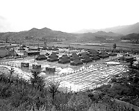 General view of the 3rd ROK Mobile Army Surgical Hospital, Wonju, Korea.  September 1951. (Army)<br /> Exact Date Shot Unknown<br /> NARA FILE #  111-SC-380826<br /> WAR & CONFLICT BOOK #:  1455