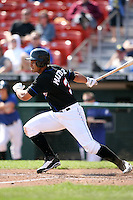April 25, 2009:  Center Fielder Fernando Martinez of the Buffalo Bisons, International League Class-AAA affiliate of the New York Mets, during a game at the Coca-Cola Field in Buffalo, NY.  Photo by:  Mike Janes/Four Seam Images