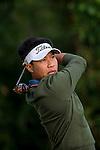Danthai Boonma of Thailand tees off the 15th hole during the 58th UBS Hong Kong Golf Open as part of the European Tour on 09 December 2016, at the Hong Kong Golf Club, Fanling, Hong Kong, China. Photo by Marcio Rodrigo Machado / Power Sport Images