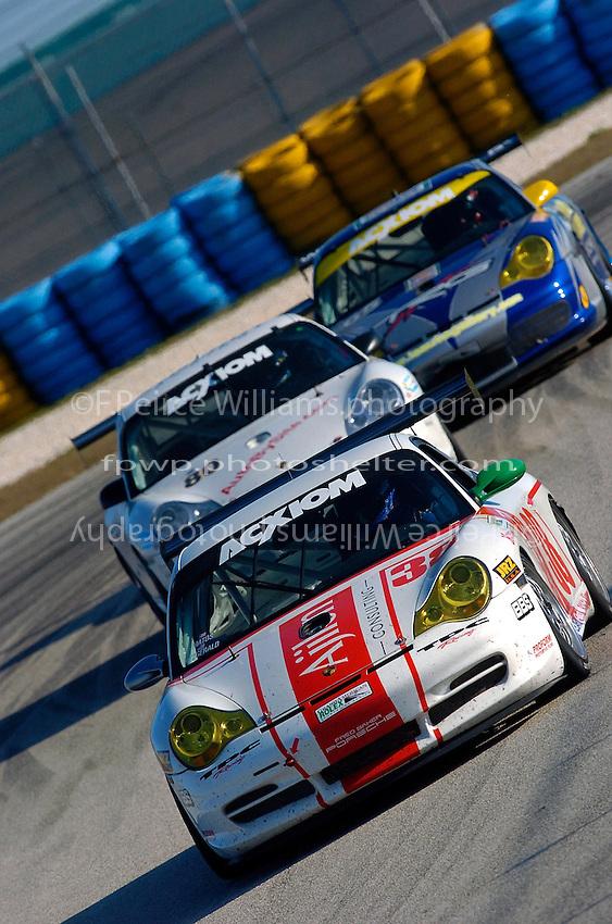 #38 Porsche, #80 Porsche and #65 Porsche class: Grand Touring (GT)