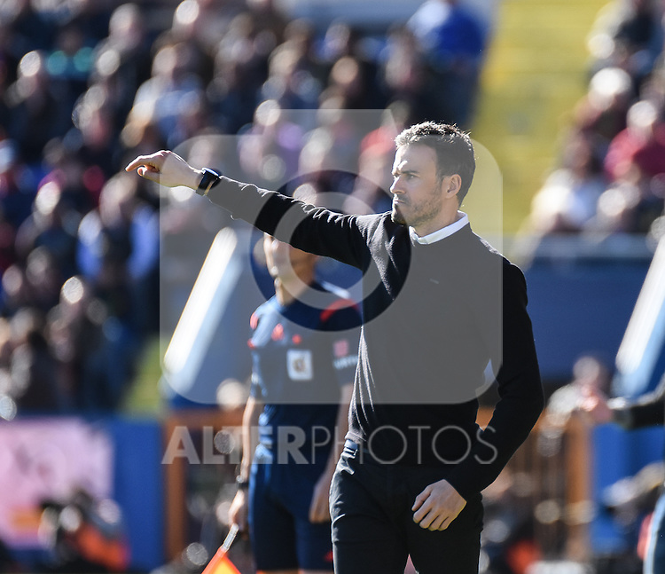 FC Barcelona's coach Luis Enrique   during La Liga match. February 7, 2016. (ALTERPHOTOS/Javier Comos)