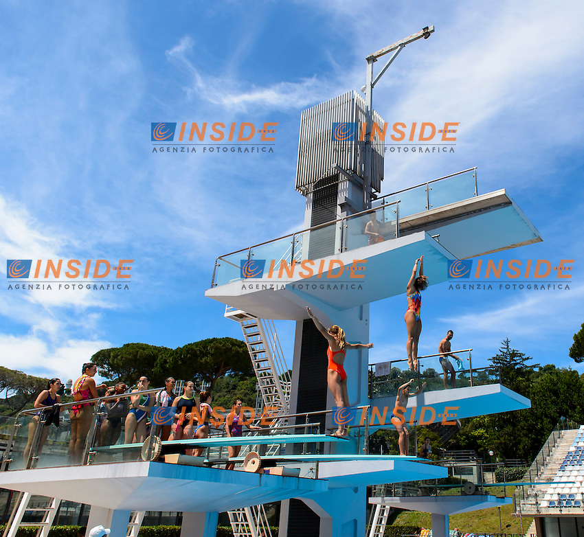 Ambiente Atmosphere <br /> Roma 21-06-2016 Stadio del Nuoto Foro Italico Tuffi Campionati Italiani <br /> Foto Andrea Staccioli Insidefoto