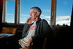Martin Vetterli, présidentde l'EPFL à Lausanne à laJungfraujoch. Jungfraujoch juillet 2020