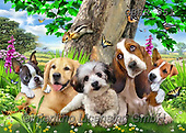 Howard, REALISTIC ANIMALS, REALISTISCHE TIERE, ANIMALES REALISTICOS, paintings+++++,GBHR951,#a#, EVERYDAY ,selfies