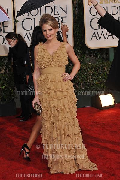 Jennifer Morrison at the 67th Golden Globe Awards at the Beverly Hilton Hotel..January 17, 2010  Beverly Hills, CA.Picture: Paul Smith / Featureflash