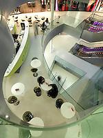 Centro Polaris, Chiasso, Switzerland, Modern Architecture, Centro Ovale