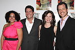 Elisa Bocanegra, Curtis Billings, Maggie Lacey & Darren Pettie.attending the After Party for the Off-Broadway Roundabout Theatre Company Production of  'The Milk Train Doesn't Stop Here Anymore' at the Laura Pels Theatre in New York City..