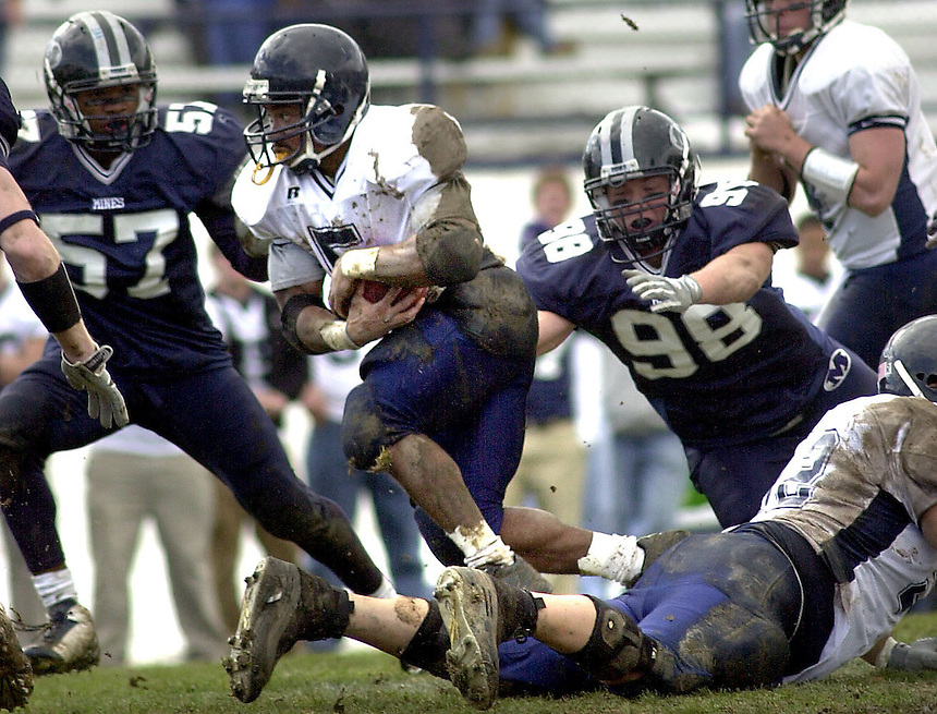 10 October 2006: Fort Lewis College Football at Colorado School of Mines in Golden, Colorado. Fort Lewis College won the game.