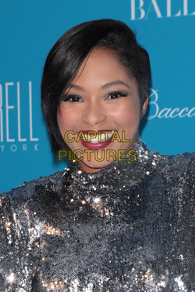 NEW YORK, NY - DECEMBER 1: Alicia Quarles at the 11th Annual UNICEF Snowflake Ball at Cipriani, Wall Street on December 1, 2015 in New York City.  <br /> CAP/MPI99<br /> &copy;MPI99/Capital Pictures