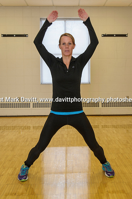 Amy McAllister, programming director for the Altoona Campus, says this is the time of year when people find a renewed interest in fitness. The campus offers several free classes for both beginners and the experienced.<br /> <br /> Step 4: Jumping Jack - Level two is a traditional Jumping Jack. Then leap spreading your feet and raising your arms above your head.