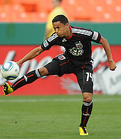 DC United midfielder Andy Najar.  DC United defeated El Salvador National Team 1-0 in a international charity match at RFK Stadium, Saturday June 19, 2010.