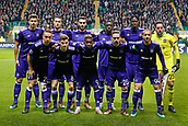 5th December 2017; Glasgow, Scotland; The team of Rsc Anderlecht  during the Champions League Group B match between Celtic FC and Rsc Anderlecht