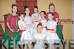 BALLET: The Academy Dancers from Camp who performed at the Camp Town Twining Concert in the Old School, Camp on Sunday night, Siún Deely, Hannah Nix, Manma Nix, Annie O'Neill, Ciara Doogan-Jones, Ciara Crean, Dioreann O'Neill and Jodie O'Donnell