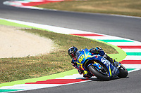 Sylvain Guintoli of French and Team SUZUKI ECSTAR during the MotoGP Italy Grand Prix 2017 at Autodromo del Mugello, Florence, Italy on 4th June 2017. Photo by Danilo D'Auria.<br /> <br /> Danilo D'Auria/UK Sports Pics Ltd/Alterphotos /NortePhoto.com