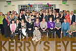 Party - Breda O'Connor from Castleisland, seated centre enjoying a wonderful night with family and friends at her 50th birthday party held in The Ballyroe Heights Hotel on Friday night. .............................................................................................................................................................................. ............
