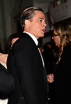 HOLLYWOOD, CA - NOVEMBER 05: Actor-producer Brad Pitt arrives at the AFI FEST 2015 presented by Audi Opening Night Gala Premiere of Universal Pictures' 'By The Sea' at TCL Chinese 6 Theatres on November 5, 2015 in Hollywood, California.