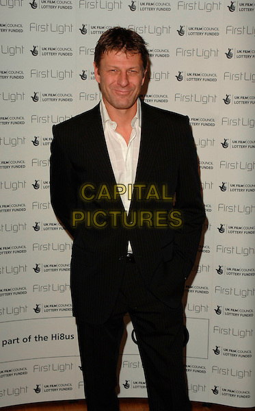 SEAN BEAN.The First Light Film Awards, Odeaon West End, London, UK..February 27th, 2007.half length black suit jacket .CAP/CAN.©Can Nguyen/Capital Pictures