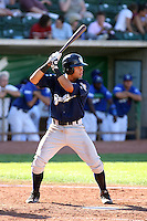 Miguel Vasquez / Helena Brewers in action against the Ogden Raptors in a Pioneer League game at Ogden, Utah - 08/10/2008..Photo by:  Bill Mitchell/Four Seam Images