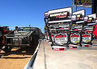 Apr 16, 2011; Surprise, AZ USA; LOORRS trophies during round 3 at Speedworld Off Road Park. Mandatory Credit: Mark J. Rebilas-
