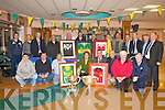 KERRY CLUBS JERSEYS: Presenting over 80 Kerry GAA club jerseys to Kerry General Hospital that will be displayed on the hospital walls on Thursday,