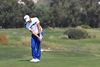 Haydn Porteous (RSA) on the 9th green during Round 2 of the Rocco Forte Sicilian Open 2018 on Friday 11th May 2018.<br /> Picture:  Thos Caffrey / www.golffile.ie<br /> <br /> All photo usage must carry mandatory copyright credit (&copy; Golffile | Thos Caffrey)