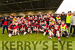 Kenmare celebrate defeating Adare at Mallow on Sunday