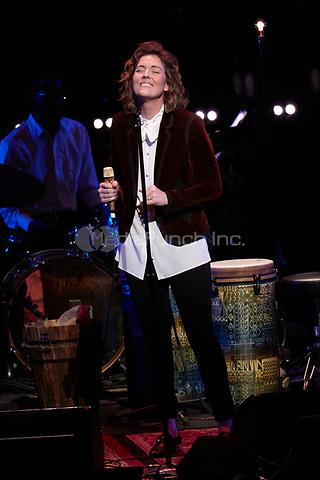 Los Angeles, CA - NOV 07:  Brandi Carlile performs at 'Joni 75: A Birthday Celebration Live At The Dorothy Chandler Pavilion' on November 07 2018 in Los Angeles CA. Credit: CraSH/imageSPACE/MediaPunch