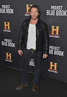 03 January 2019 - Los Angeles, California - Zach McGowan. &quot;Project Blue Book&quot; History Scripted Series Los Angeles Premiere held at Simon House.          <br /> CAP/ADM<br /> &copy;ADM/Capital Pictures