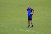 Panama City, Panama - Monday, October 14, 2013: The US Men's National team training session at Estadio Rommel Fernandez.