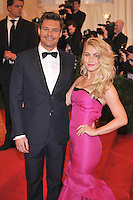 Ryan Seacrest and Julianne Hough at the 'Schiaparelli And Prada: Impossible Conversations' Costume Institute Gala at the Metropolitan Museum of Art on May 7, 2012 in New York City. © mpi03/MediaPunch Inc.
