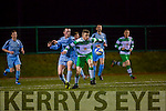 Gary Keane Killarney Celtic looks to set up an attack against Shannon in the FAI cup in Killarney on Saturday
