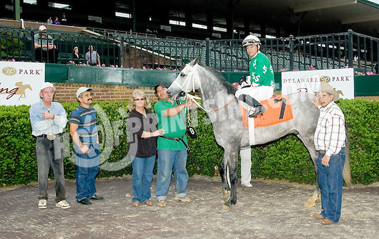 Vip winning at Delaware Park on 5/14/12