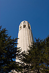 California: San Francisco. Coit Tower, Telegraph Hill. Photo copyright Lee Foster. Photo #: san-francisco-coit-tower-19-casanf78739