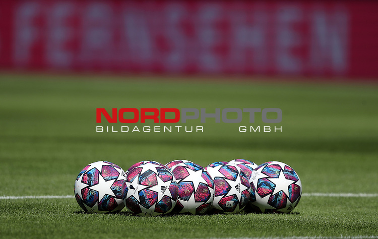 Championsleague Final Bälle ( Istanbul)<br />Testspiel Audi Football Summit FC Bayern Muenchen - Olympique Marseille  auf dem FC Bayern Campus<br />Saisonvorbereitung  2020 / 2021  <br /><br />Foto : Stefan Matzke / sampics / Pool via nordphoto / Bratic<br /><br />Nur für journalistische Zwecke ! Only for editorial use !<br /><br />DFL regulations prohibit any use of photographs as image sequences and/or quasi-video