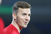 Lee Evans of Wales prior to kick off of the International Friendly match between Wales and Panama at The Cardiff City Stadium, Wales, UK. Tuesday 14 November 2017