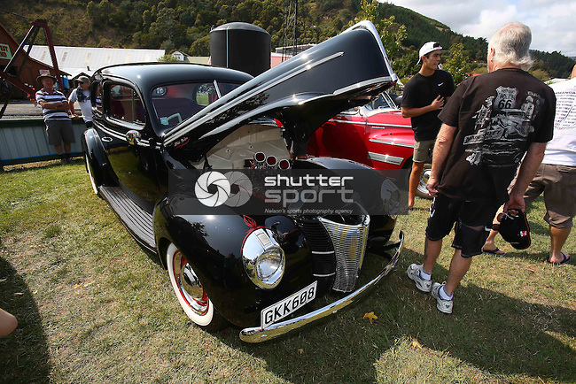 Pre 49 Street Rod Nationals Founders Park,Nelson Saturday 7th Feb 2015. Photo: Evan Barnes/www.shuttersport.co.nz