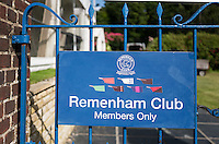 Henley on Thames. United Kingdom.  Riverside entrance to Remenham Club. Monday,  27/06/2016,   16:59:06   2016 Henley Royal Regatta, Henley Reach.   [Mandatory Credit Peter Spurrier/ Intersport Images]