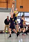 2018-02-18 / Basketbal / Seizoen 2017-2018 / Okido Arendonk - Grimbergen / Michiels (Okido) probeert te scoren<br /> <br /> ,Foto: Mpics.be