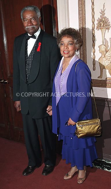 Ossie (Ozzie) Davis and Ruby Dee at the Directors Guild of America Honors 2002 at the Waldorf-Astoria in New York City. June 9, 2002. Please byline: Alecsey Boldeskul/NY Photo Press.   ..*PAY-PER-USE*      ....NY Photo Press:  ..phone (646) 267-6913;   ..e-mail: info@nyphotopress.com