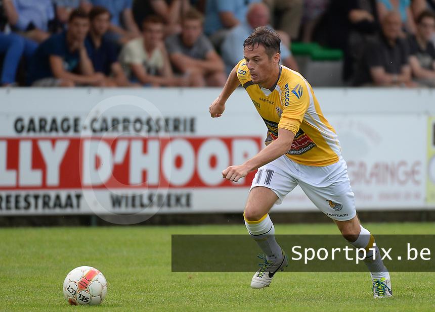 KSC Wielsbeke : Kristof Dupont <br /> foto VDB / BART VANDENBROUCKE