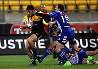 Ben Lam in action during the Super Rugby match between the Hurricanes and Stormers at Westpac Stadium in Wellington, New Zealand on Friday, 5 May 2017. Photo: Mike Moran / lintottphoto.co.nz