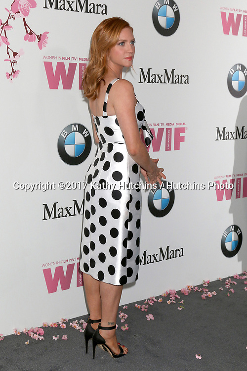 LOS ANGELES - JUN 13:  Brittany Snow at the Women in Film Los Angeles Celebrates the 2017 Crystal and Lucy Awards at the Beverly Hilton Hotel on June 13, 2017 in Beverly Hills, CA