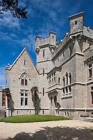 Europe/France/Aquitaine/64/Pyrénées-Atlantiques/Pays-Basque/Hendaye: Chateau d'Abbadia construit en 1870 par  Eugène Viollet-le-Duc pour Antoine d'Abbadie d'Arrast