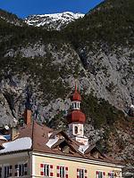 Pfarrkirche in Nassereith. Gurgltal in Tirol, &Ouml;sterreich, Europa<br /> parish church in  Nassereith, , district Imst, Tyrol, Austria, Europe